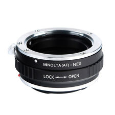 K&F Concept Adapter for Minolta(AF) Alpha MA MAF Lens to Sony NEX E Mount Camera