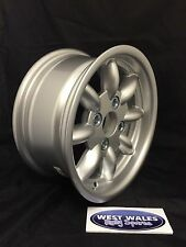 Revolution 8 spoke Classic - Ford Group4 Escort - 6x13 Rally Alloy Wheel Silver