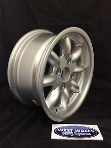Revolution 8 spoke Classic - Ford Group 4 Escort - 6x13 Rally Alloy Wheel Silver