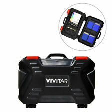 Vivitar Memory Card Holder Hard Case Fits 24 CF SD Micro SD Cards