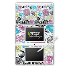 Nintendo DS Lite Folie Aufkleber Skin - Sticker Logos