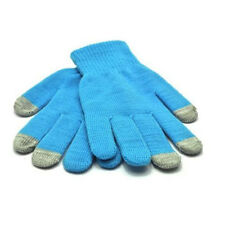 Touch glove Sky Blue Warm Gloves for Smartphones, Tablets, Sat Navs,ipad