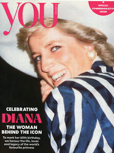 UK YOU Magazine June 2021: PRINCESS DIANA AT 60 COVER FEATURE