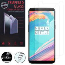 """2x cristal blindado para OnePlus 5t a5010 6.01"""" real vidrio lámina protectora de pantalla"""