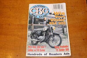 CBG - CLASSIC BIKE GUIDE # 21 - BSA A65 - October November 1992