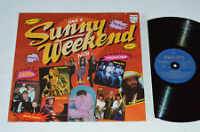 SUNNY WEEKEND Various LP Philips Germany 6300387 Elton John Rod Stewart Nazareth