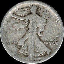 A 1917 D Walking Liberty Half Dollar 90% SILVER US Mint (Exact Coin Shown) BB8
