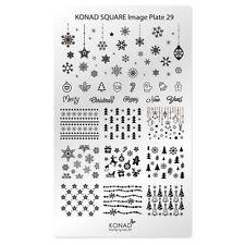 Konad Stamping Nail Art Square Image Plate 29 Christmas
