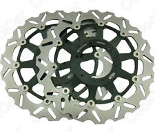 Front Brake Disc Rotors For Honda CBR929RR 2000 2001 CBR954RR 2002 2003 Black