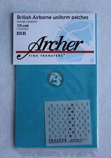 Archer 1/35 British Airborne Uniform Patches WWII (enough for 5 figures) FG35056