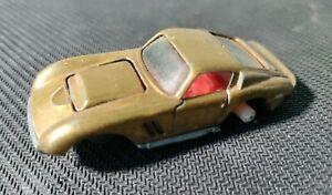 Johnny Lightning TOPPER CUSTOM FERRARI GOLD REDLINE Vintage