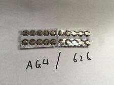 20x AG4 SR626SW LR626 LR66 377 Alkaline SR66 377A SR626 battery batteries