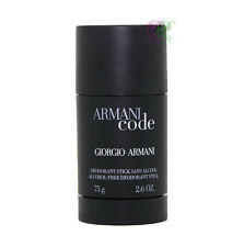Giorgio Armani Code Men Deodorant Stick 75g For Men Fragrances New