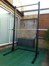 BARBELL SQUAT STAND POWER RACK FREESTANDING PULL UP BAR-EQUIPMENT BACK IN STOCK