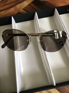 Cutler and gross sunglasses Gold Metal Vintage