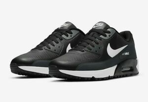 """Nike Air Max 90 G """"Black with hint of white"""" Men's Golf Shoes - Limited Stock"""