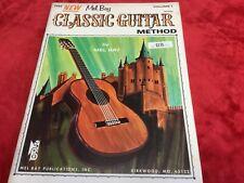 1970 Mel Bay Classic Guitar Method Instruction Book sheet music beginner Vintage