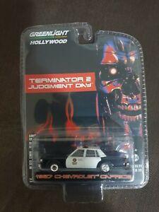 Greenlight Hollywood 1:64 Terminator 2 Judgement Day 1986 Chevrolet Caprice...