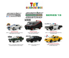 PREORDER 44790 Greenlight Collectibles Hollywood Series 19 Complete 6 Car Set