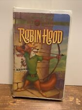 """WALT DISNEY GOLD CLASSIC COLLECTION ~ """"ROBIN HOOD"""" ~ VHS, 2000~sealed package"""
