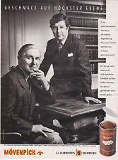 MÖVENPICK KAFFEE CAFE UELI PRAGER- PUBLICITE PRESSE ADVERT 1987 COUPURE MAGAZINE