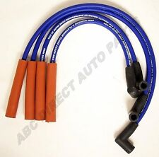 Saturn 91-02 1.9L Blue Stainless Laser Mag Spiral Core Spark Plug Wire Set 39465
