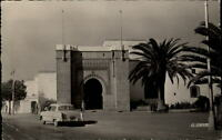 Rabat Marokko Maroc Afrika 1955 gelaufen Le Tribunal du Pacha Straßenpartie Auto