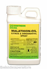 Malathion Oil Citrus & Ornamental Spray 8 oz. Scale Mites