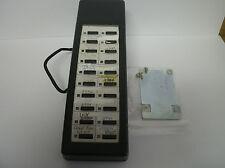 Toshiba Strata CIX CTX - DADM2020 Charcoal  20 Button Add ON Module W/ New Desi