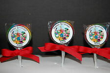 15 Mickey Mouse Clubhouse & Friends Personalized Birthday Lollipops