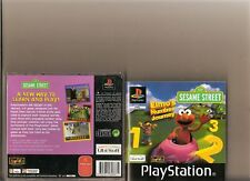 Número de Elmo viaje PLAYSTATION 1 PS1 PS 2 niños Sésamo