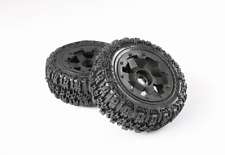 Front knobby tyres set for 1/5 hpi baja 5t rc car parts