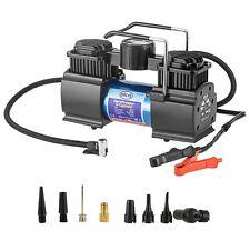 Powerful 12V AIR COMPRESSOR 50L 160PSI tyre inflator car caravan Battery powered