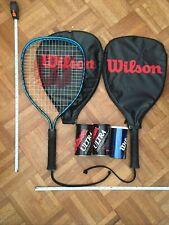 Lot of Racquetball Set, New Balls, Light Used Racket