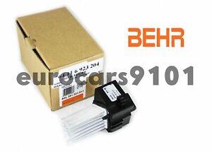 BMW X3 Behr Hella Service HVAC Blower Motor Regulator 351321511 64116923204