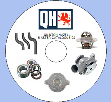 QUINTON HAZELL MASTER  ... 20 CATALOGUES ON 1 CD