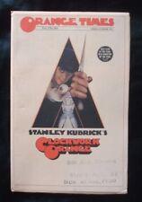 Rare 1972 *ORANGE TIMES* Promo HERALD/Program for A CLOCKWORK ORANGE* *KUBRICK*