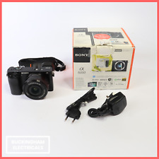 Sony ILCE6000L Alpha A6000 Mirrorless Camera with E PZ 16-50mm Lens Kit - Black