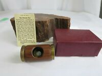 VINTAGE/ VAN CORT INSTRUMENT-Private eye scope-Polemoscope side angle view RP19