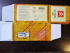 BOITE VIDE NOREV  CITROEN 2CV WELLA 1987  EMPTY BOX CAJA VACCIA