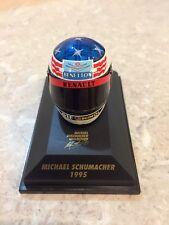 MINICHAMPS 1/8 SCALE MICHAEL SCHUMACHER, BENNETON 1995 BELL HELMET, 510389501