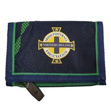 Mens Umbro Irish Football Association Trifold Sports Velcro Wallet