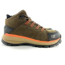 Caterpillar Men's Utilize WP Alloy Toe Bitter Chocolate Work Boots Size 12 D