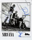 NIRVANA - KURT COBAIN SIGNED 10X8 PHOTO, GREAT CLASSIC IMAGE, LOOKS GREAT FRAMED