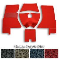 Complete Tuxedo Replacement Carpet Foam Backing fits Corvette C1 - Choose Color