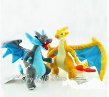 2pcs New Pokemon Mega Evolution X&Y Charizard Plush Figure Toy 9-10""