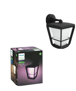 Philips Hue Econic LED Down Light - Black