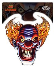 Aufkleber Sticker Evil Clown Motorcycles Biker Harley Totenkopf MC Scull Jester