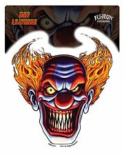 Aufkleber Sticker Evil Clown Motorcycles Biker Harley Totenkopf MC Scull Jester