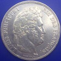 Monnaie Argent, 5 Francs Louis Philippe Ier 1834 W Lille #.1403